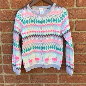 Gymboree cardigan sweater nwt